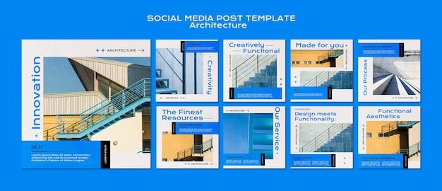 Architektur social media post