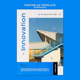 Architekturplakatschablone