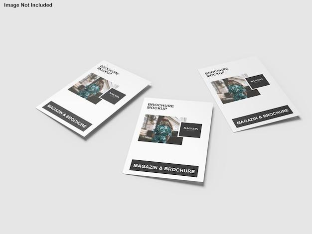 Architekturportfolio-broschürenmodell