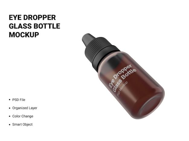 Augentropfen-glasflaschen-modell