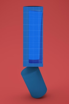 Ausgewogene creme tube