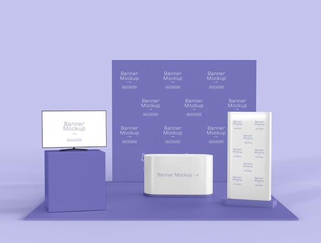 Ausstellungs- und promotionsstandmodell