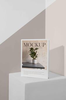 Auswahl an mock-up-buchcovern