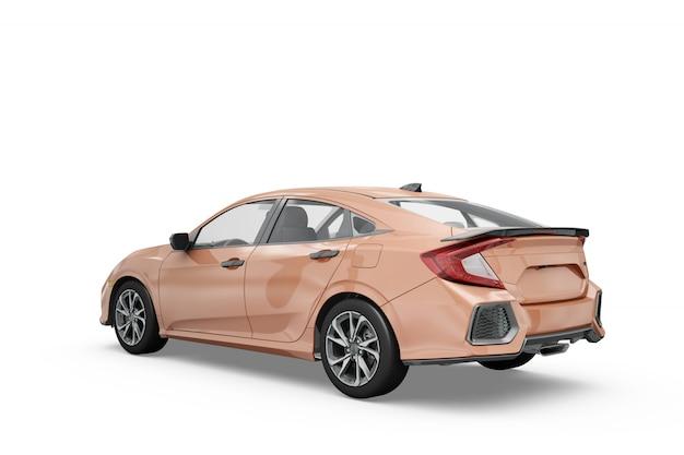 Auto-modell isoliert design