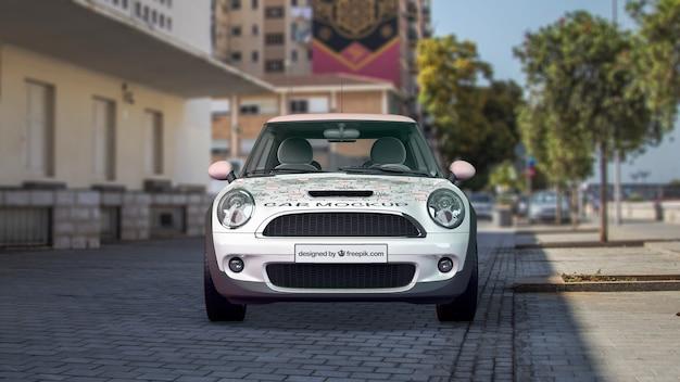 Auto-modell von vorne