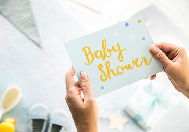 Baby-baby-dusche