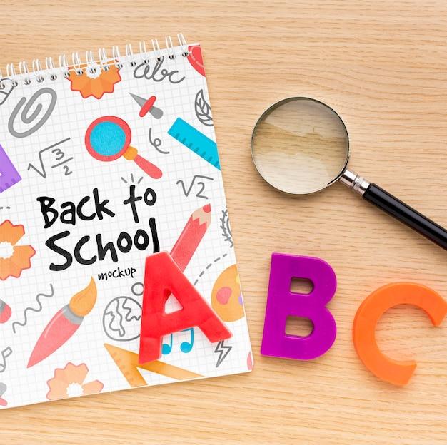 Back-to-school-arrangement-modell