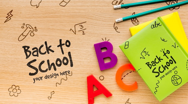 Back-to-school-sortimentsmodell