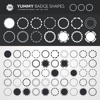 Badge-designs kollektion