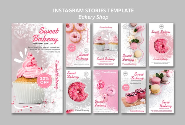 Bäckerei instagram geschichten