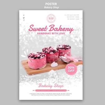 Bäckerei poster thema