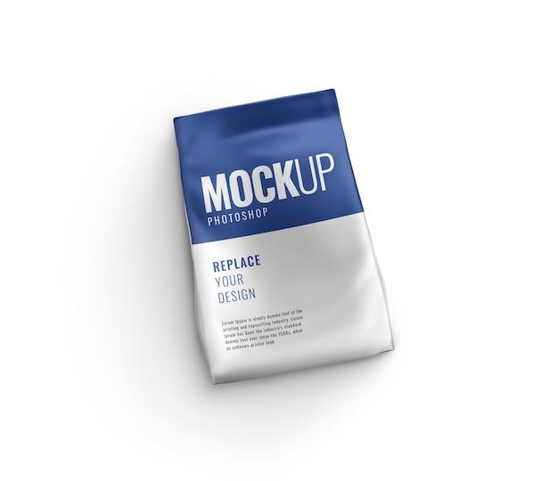 Bag pouch sachet mockup 3d-rendering