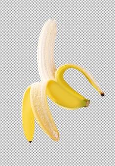 Bananenfrucht isoliert