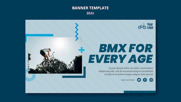 Banner bmx shop vorlage