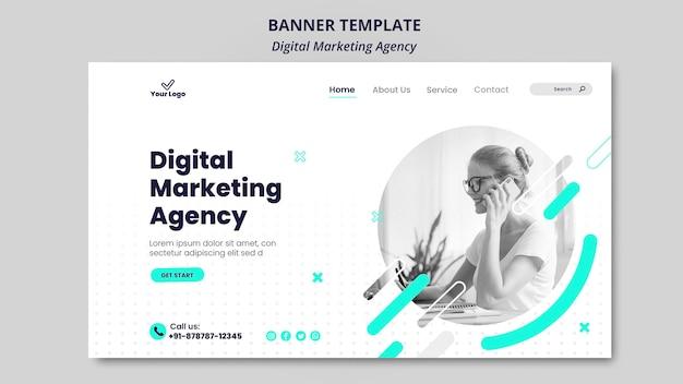 Banner der agentur für digitales marketing