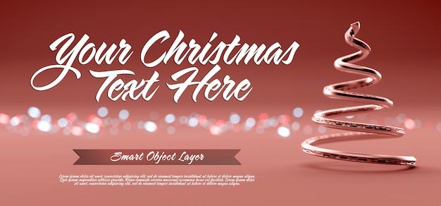 Banner einer weihnachtsszene