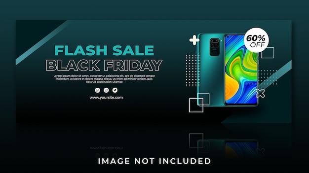 Banner facebook cover flash sale