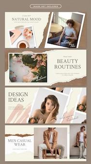Banner im beauty-thema