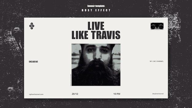 Banner live-reisevorlage