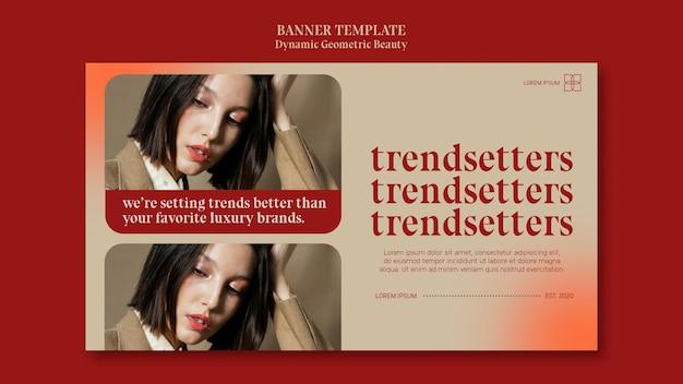 Banner luxus beauty store vorlage