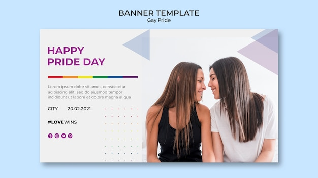 Banner vorlage homosexuell stolz
