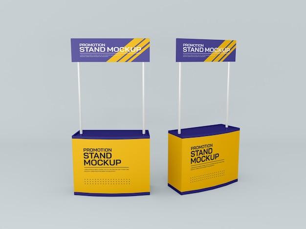 Bannermodell für werbeveranstaltungsstand Kostenlosen PSD