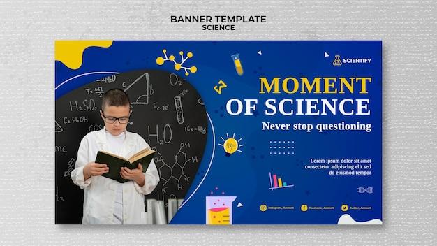 Bannervorlage für den naturwissenschaftlichen unterricht