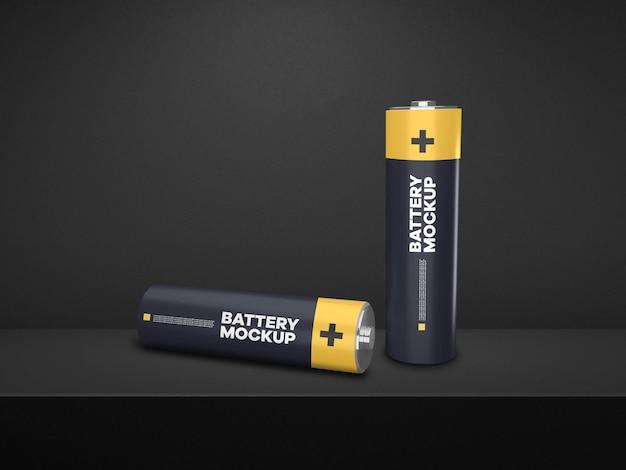 Batteriemodell-display