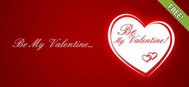 Be my valentine kostenlose printable grußkarten-vorlage