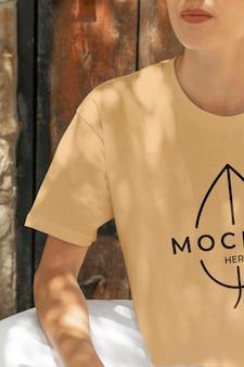 Bekleidungsmodell der modernen mädchenstadt