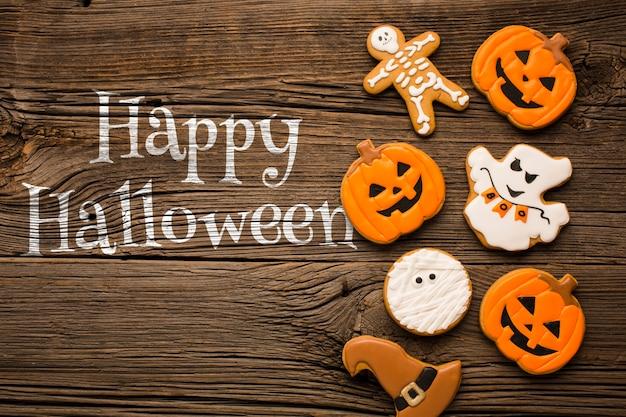 Besondere leckereien für den halloween-tag
