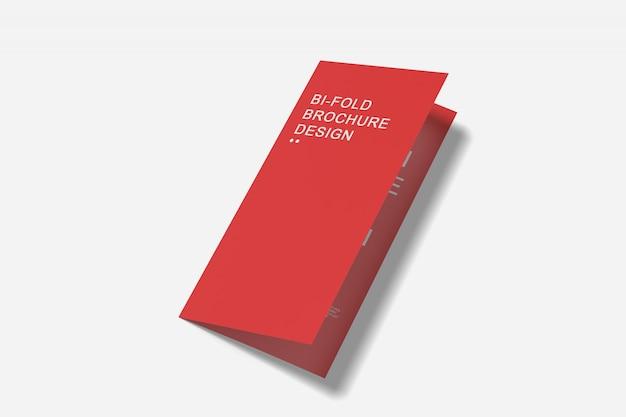 Bi-fold-broschürenmodell