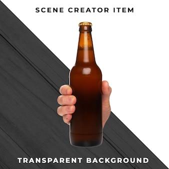 Bier transparent psd