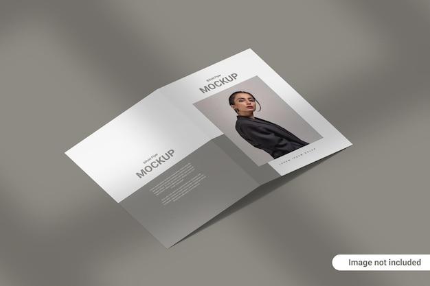 Bifold broschüre mockup