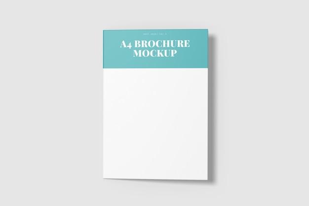 Bifold-broschürenmodell isoliert
