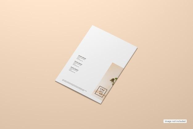 Bifold-broschürenmodell