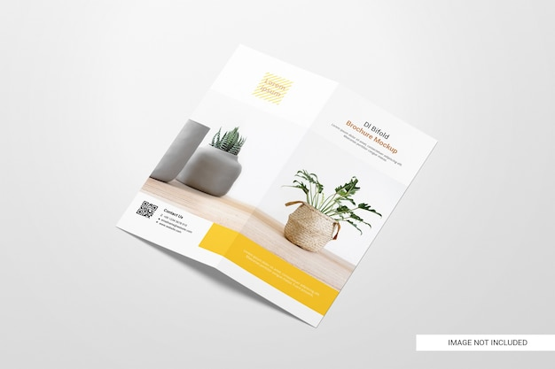 Bifold flyer broschüre modell Premium PSD