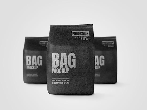 Big pouch branding werbebanner modell