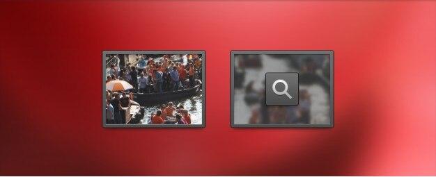 Bild icon und hover staat