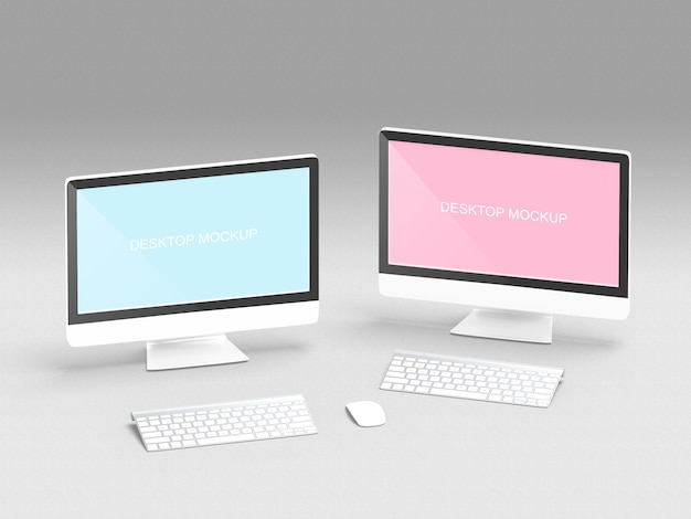 Bildschirm computermodell