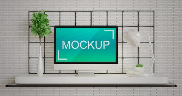 Bildschirm monitor monitor modell auf dem pc