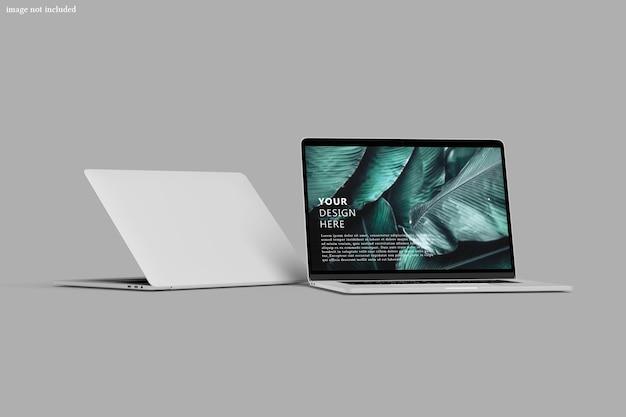 Bildschirmmodell für digitales laptop-gerät