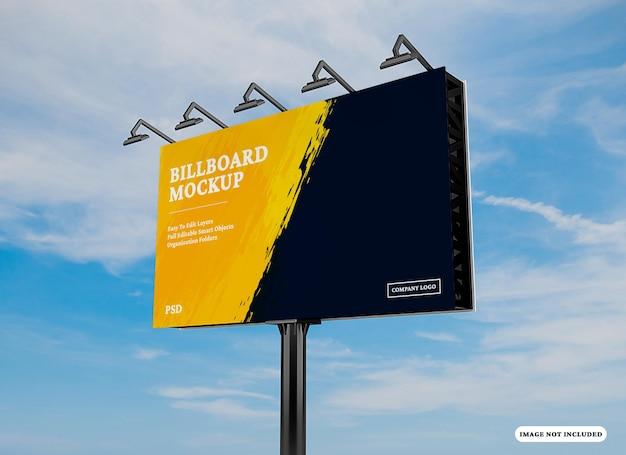 Billboard-mockup-design isoliert