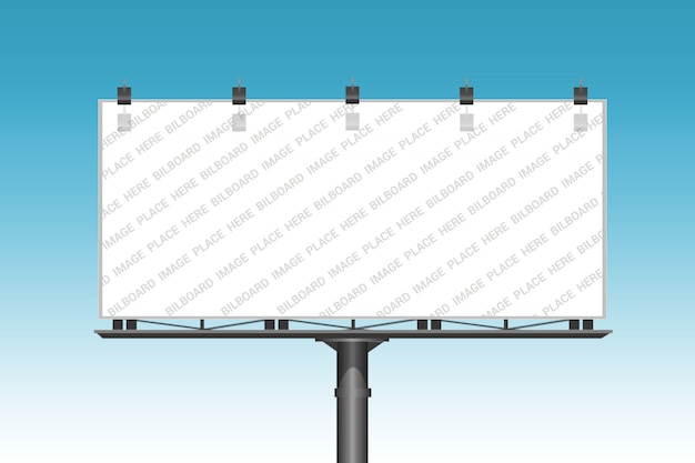 Billboard mockup vorlage