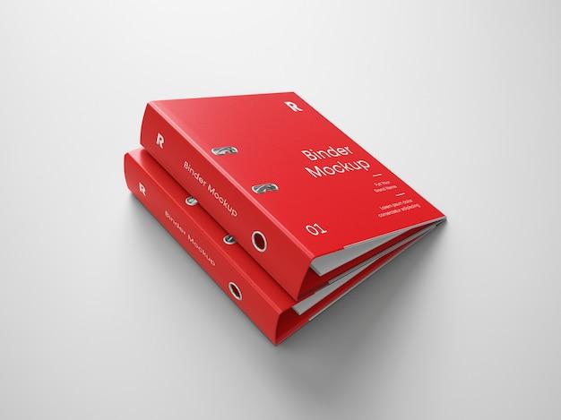 Binder folder mockup