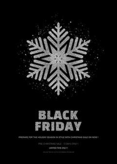 Black friday sonderverkauf banner oder plakat vorlage