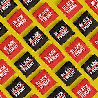 Black friday szene schöpfer modell