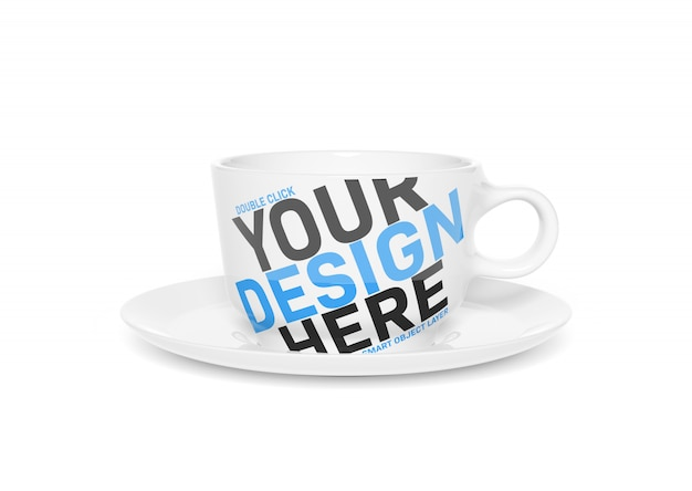 Blank cup mockup Premium PSD