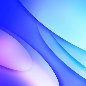 Blauer und lila hintergrund