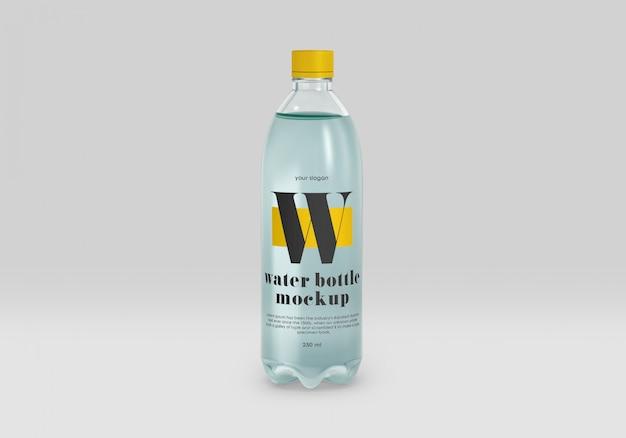 Blaues haustierwasserflaschenmodell